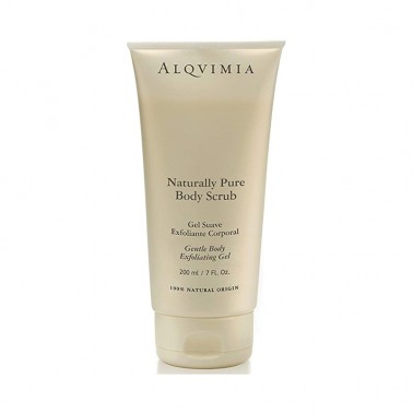 Naturally Pure Body Scrub Alqvimia, 200 ml.