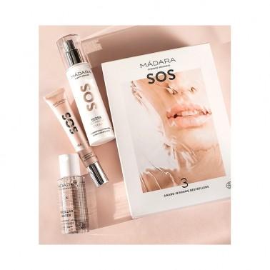 Pack Colección Estrella SOS Hidratante  Mádara, 3 productos