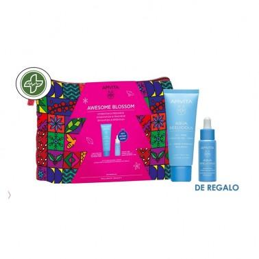 APIVITA Neceser Aqua Beelicious Crema Hidratante Textura Ligera + REGALO Booster