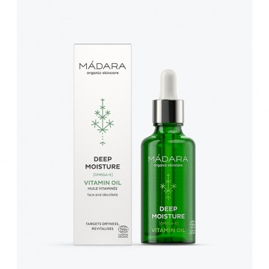 Deep Moisture Vitamin Oil Mádara, 50 ml.