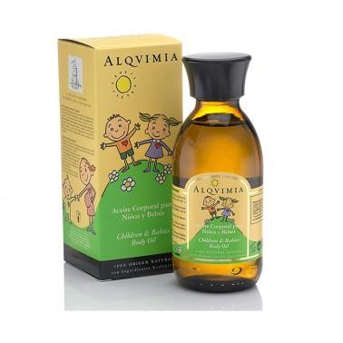 Agua de Colonia para Niños y Bebés Alqvimia, 100 ml.