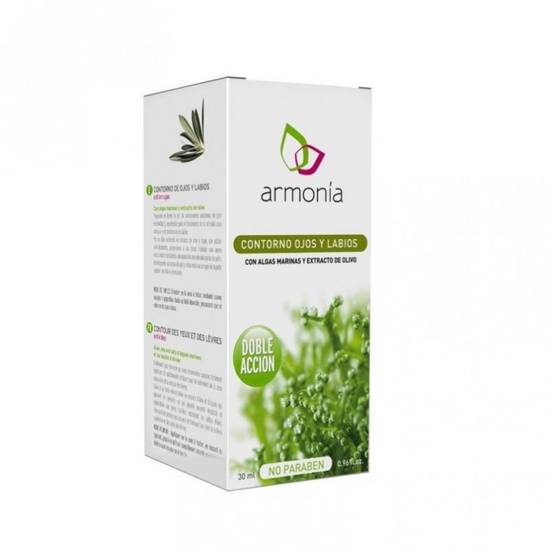 Armonía Contorno de Ojos y Labios con Algas Marinas, 30 ml.