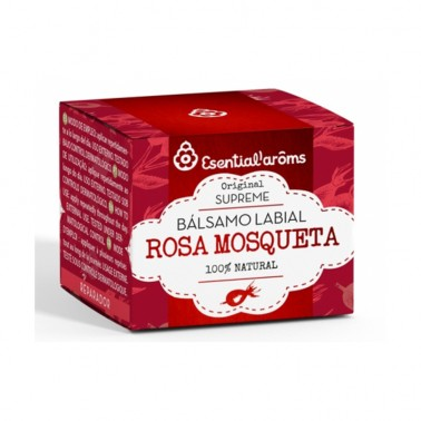 Bálsamo Labial con Rosa Mosqueta Esential Aroms, 5 grs.