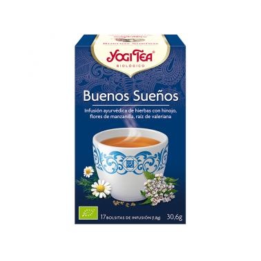 Buenos Sueños Yogi Tea, 17 bolsitas