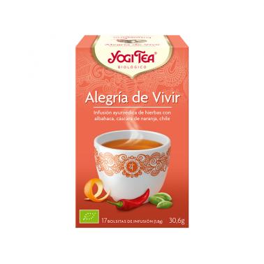 Alegria de Vivir Yogi Tea, 17 bolsitas
