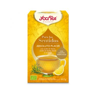 Absoluto Placer Para los Sentidos Yogi Tea, 20 bolsitas