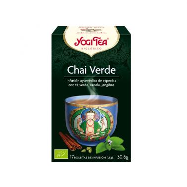 Chai Verde Yogi Tea, 17 bolsitas