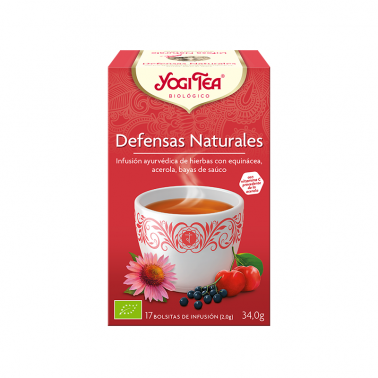 Defensas Naturales Yogi Tea, 17 bolsitas
