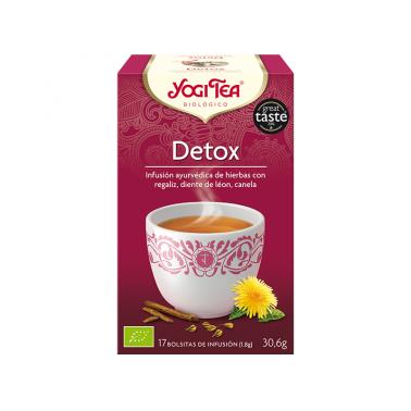 Detox Yogi Tea, 17 bolsitas