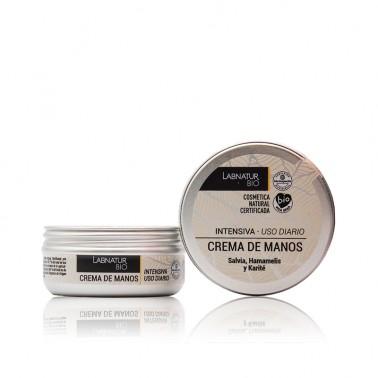 Labnatur Crema de Manos Intensiva Salvia Hamamelis BIO, 50 ml.