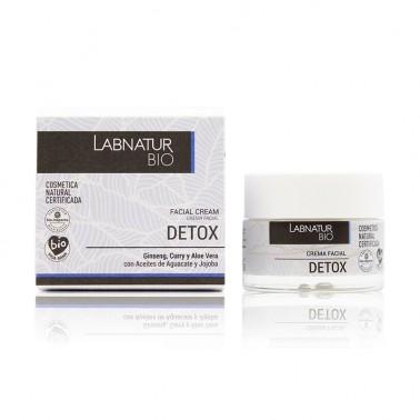 Labnatur Crema Facial Detox Aguacate Jojoba Ginseng BIO, 50 ml.