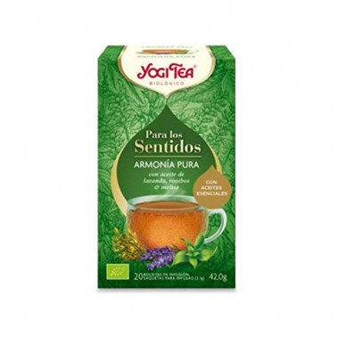 Armonía Pura para los sentidos Yogi Tea, 20 bolsitas