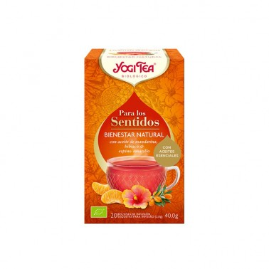 Bienestar Natural para los sentidos Yogi Tea, 20 bolsitas
