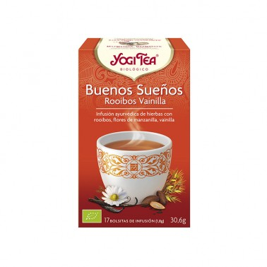 Buenos Sueños Rooibos Yogi Tea, 17 bolsitas