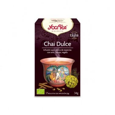 Chai Dulce Yogi Tea, 17 bolsitas