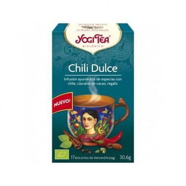 Chili Dulce Yogi Tea, 17 bolsitas