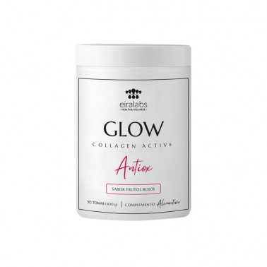 Collagen Active Antiox Glow Frutos Rojos Eiralabs, 300 gr.