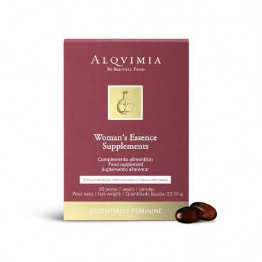 Womans Essence Supplements Alqvimia, estuche 30 perlas