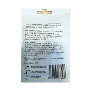 Gamuza Microfibra Anti-vaho SFG Clean, 1 un.