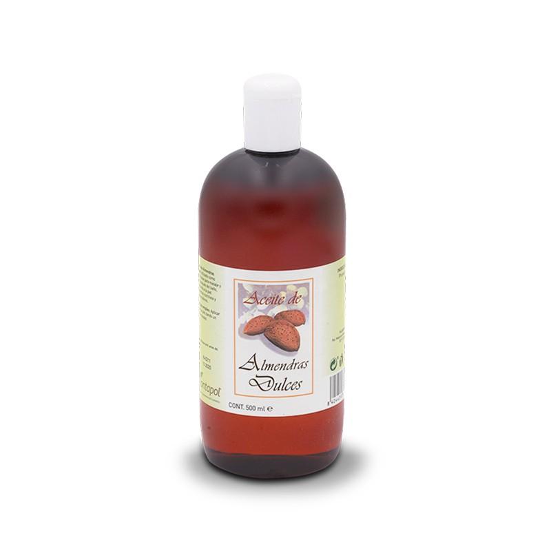 Aceite de Almendras Plantapol, 500 ml.