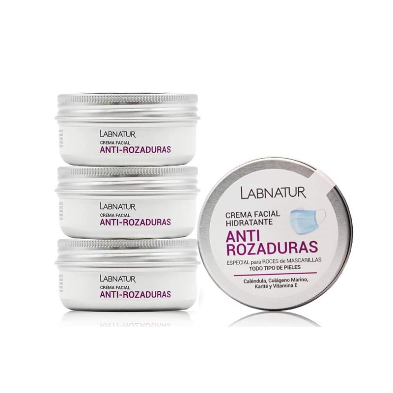 Labnatur Crema Facial Anti-Rozaduras Mascarilla, 50 ml.