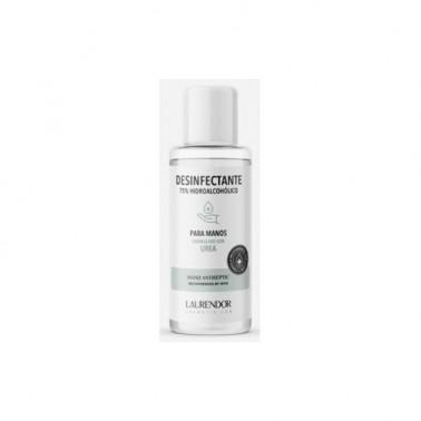 Desinfectante 75% Hidroalcoholico Manos Laurendor, 100 ml.