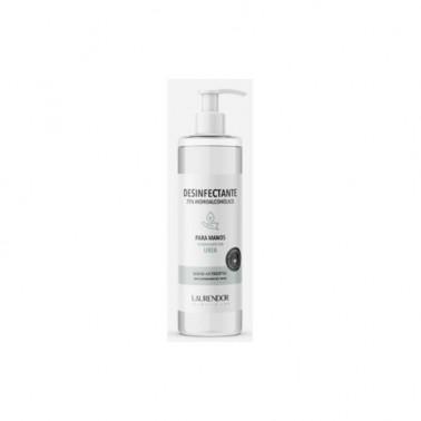Desinfectante 75% Hidroalcoholico Manos Laurendor, 500 ml.