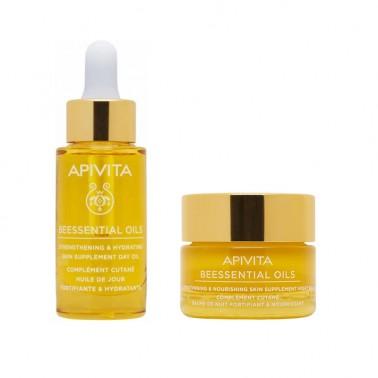 APIVITA Beessential Oils Pack Aceite de día + Bálsamo de Noche