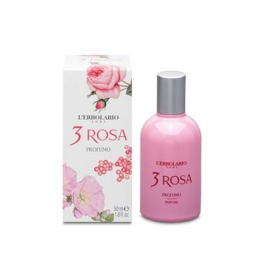 3 Rosas Agua de Perfume L´Erbolario, 50 ml.