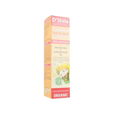SHILA Champú Vitaminado Escolar Parásitos, 250 ml.