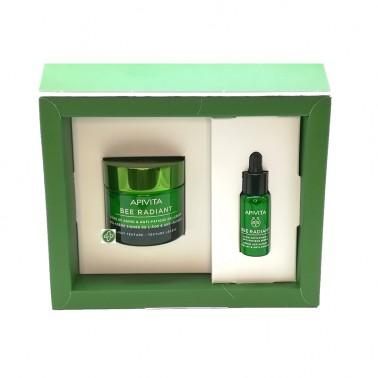 APIVITA Bee Radiant Pack Gel Crema + Sérum