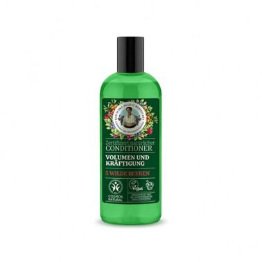 Acondicionador Voluminizador y Fortalecedor Green Agafia, 260 ml.