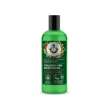 Champú Voluminizador y Fortalecedor Green Agafia, 260 ml.