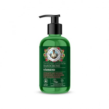Crema de Manos Nutritiva Green Agafia, 300 ml.