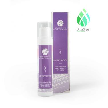 Contorno de ojos Age Protection Schussler Natur Cosmedics, 15 ml.