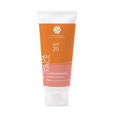 Crema Protección Solar SPF20 Schussler Natur Cosmedics, 100 ml.
