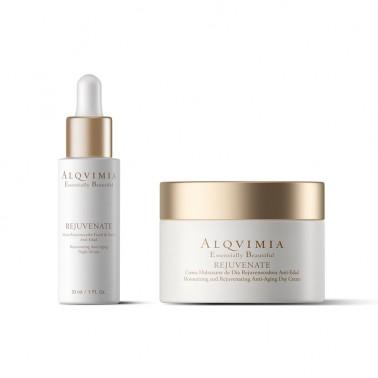 Pack Facial Rejuvenate Antifatiga y Rejuvenecedor Alqvimia