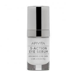 ¿Aún no conoces el contorno de ojos 5 Action Eye Serum de APIVITA?