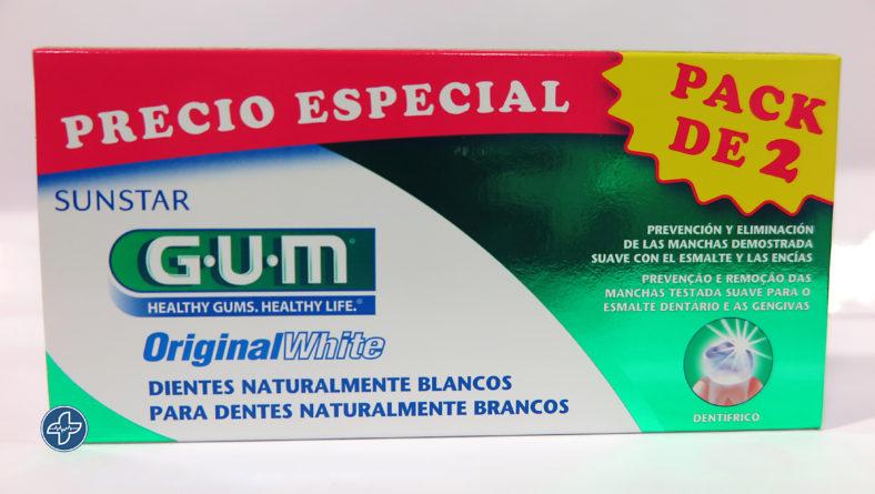 Pasta de dientes ORIGINAL WHITE – GUM