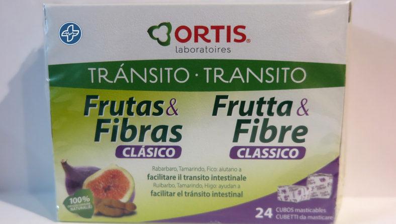 Frutas y Fibras ORTIS.  Tu solución al estreñimiento