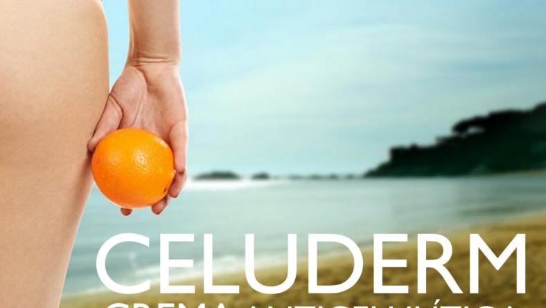 Perfecto para la lucha contra la celulitis CELUDERM